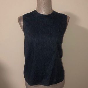 BCBG blue Top in size large